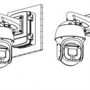 HM-CWI4GMA  400萬畫素40倍快速球型網路攝影機