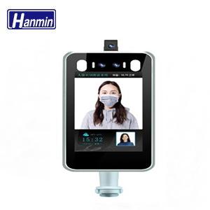 人臉辨識2MP測溫平板型網路攝影機